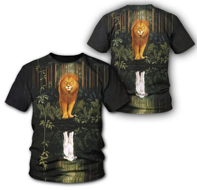 Epic 3D Christian Clothing - Lion of Judah Lamb of God Limited Edition - GnWarriors Clothing