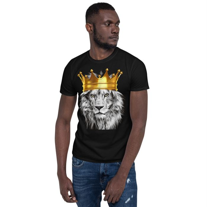 Short-Sleeve Unisex T-Shirt The Lion Of Judah - GnWarriors Clothing