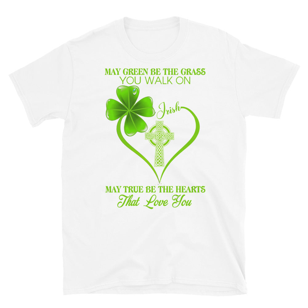 Irish Wishes Short-Sleeve Unisex T-Shirt - GnWarriors Clothing