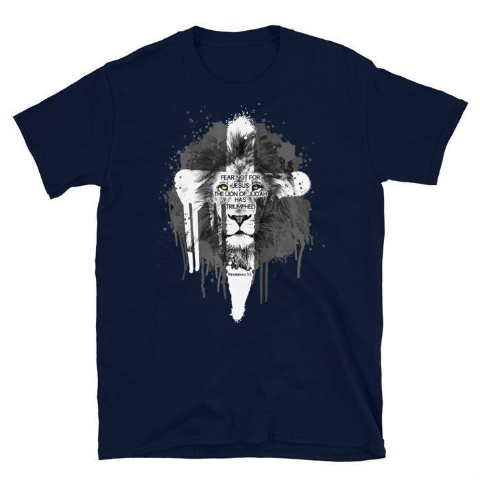 Short-Sleeve Unisex T-Shirt Fear Not For Jesus - GnWarriors Clothing