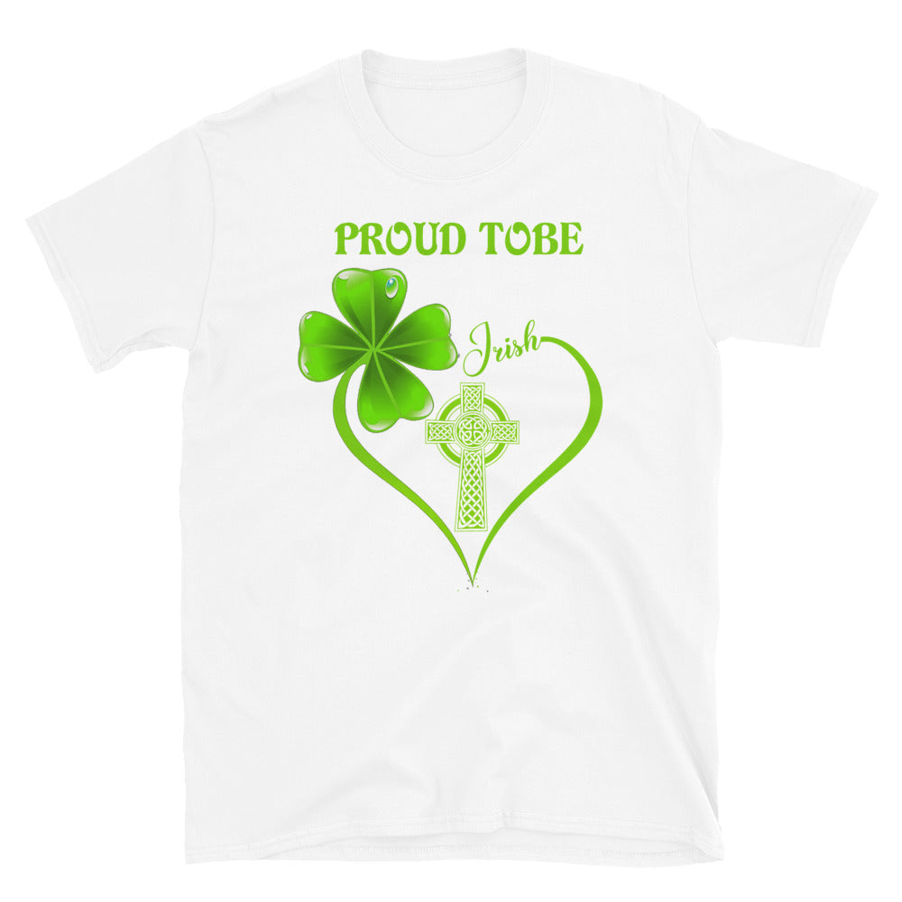 Irish Proud Short-Sleeve Unisex T-Shirt - GnWarriors Clothing