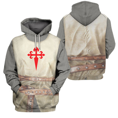 3D Knight - Order of Santiago - GnWarriors Clothing