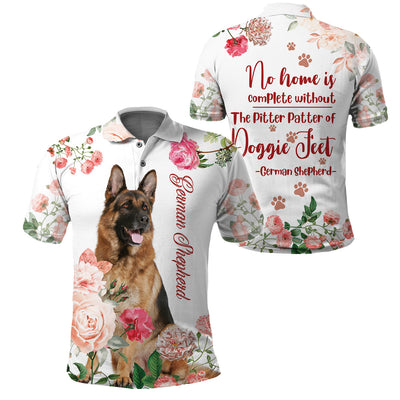 3D Print Full Printed Clothing - The pitter patter of German Shepherd