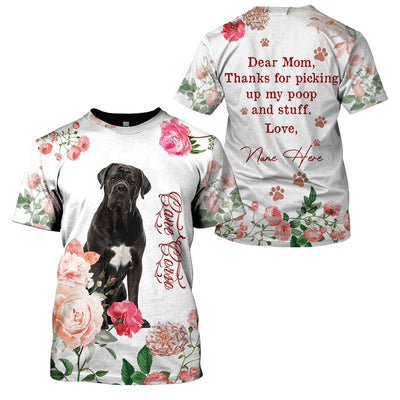 Best selling 3d apparel - Best dog mom customizable - 6