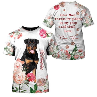 Best selling 3d apparel - Best dog mom customizable - 10