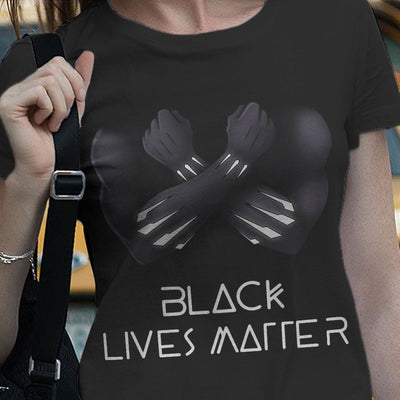 Premium 2D Clothing Black lives matter - Wakandian -  (3 days shipping T-shirt, 4-7 days shipping hoodie)