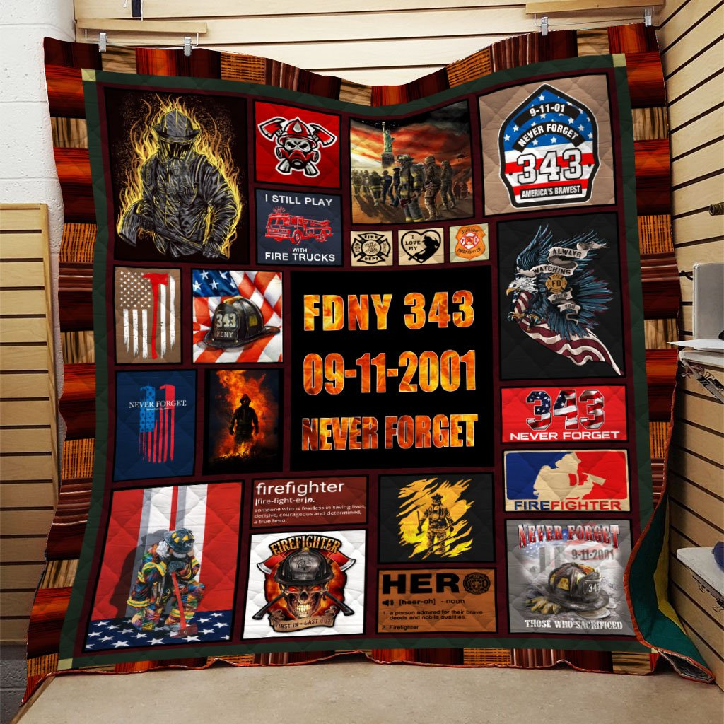 3D Printed Quilt - 09/11 Never Forget