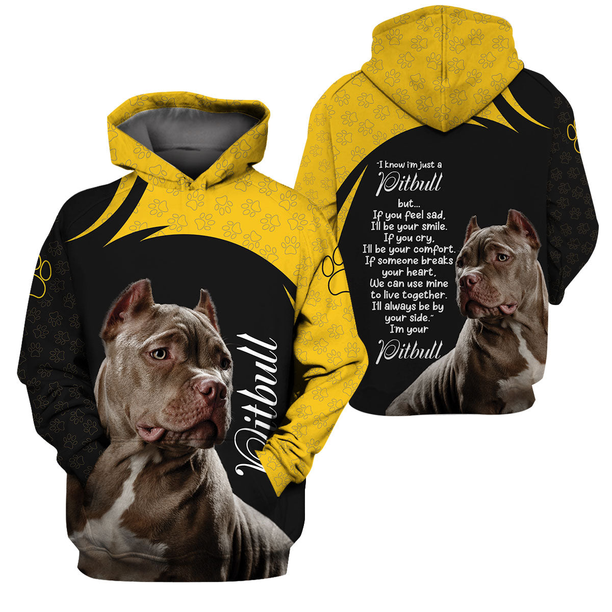 3D Apparel - I'll Always Be By Your Side - Pitbull
