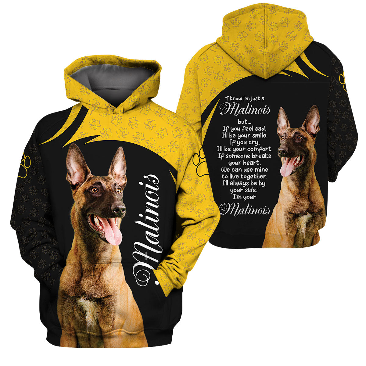 3D Apparel - I'll Always Be By Your Side - Malinois