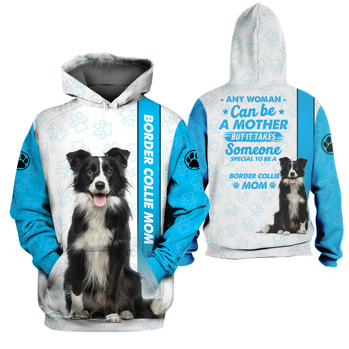 3d Apparel - Special to be a dog mom - Border collie