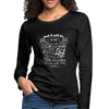 Christian Women Long Sleeve Tees (Zechariah 2:5, A Wall Of Fire) - GnWarriors Clothing