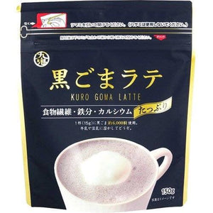 KUKI Black Sesame Latte Powder 150g