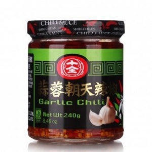 EF - Garlic chilli 240g ( green bottle)