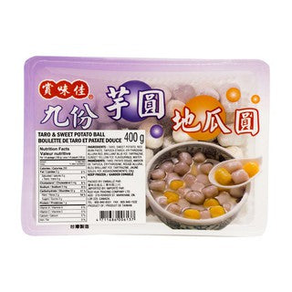 Frozen Taro and Sweet Potato Starch Balls 400g