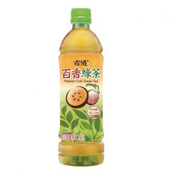 WH - GuDao Passion Fruit/Plum Green Tea 600ml