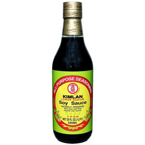 Kimlan - Lower Sodium Soy Sauce (590ml)