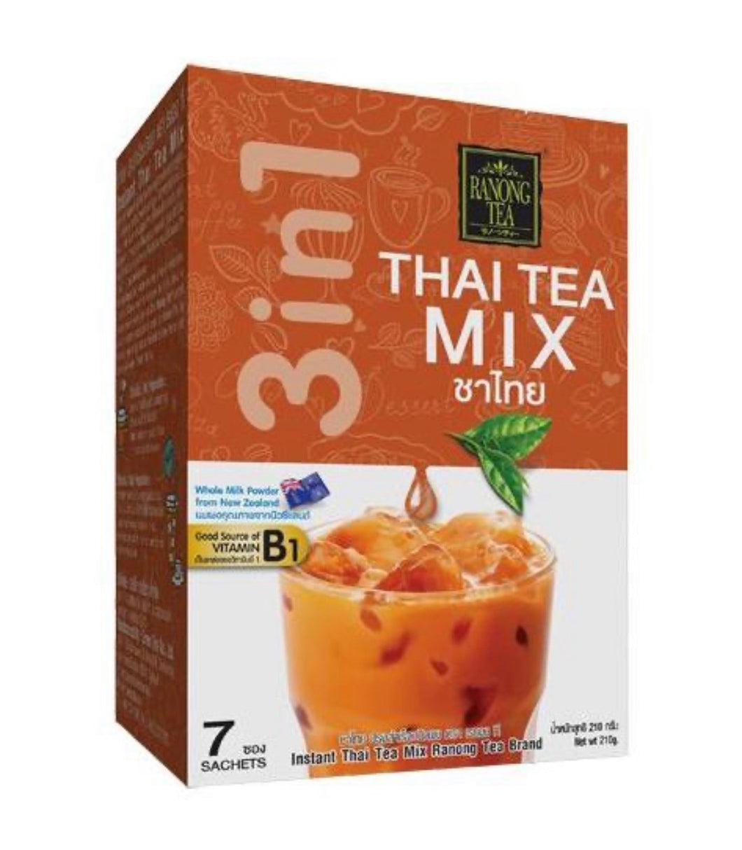 RANONG TEA Thai Tea Mix 7x23g (泰奶茶)