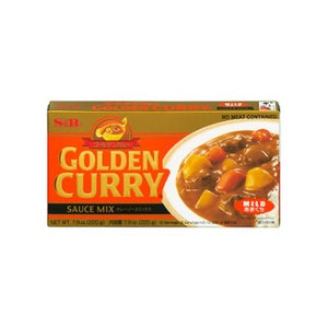 S&B Golden Curry Jumbo Mild 220g