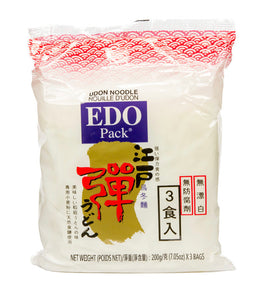 EDO Udon Noodles 600g (3 packs)