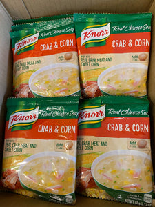 Knorr Crab and sweet corn soup mix 60g