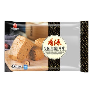 FRESHASIA Steamed Sponge Cake (Brown Sugar & Dates Flavor) 400g