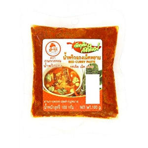 KANOKWAN Thai Curry Paste 100g - Red
