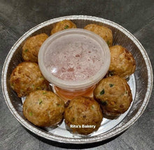 Load image into Gallery viewer, Rita's Bakery – Taiwanese braised choped pork ball 7pcs (330-350g)