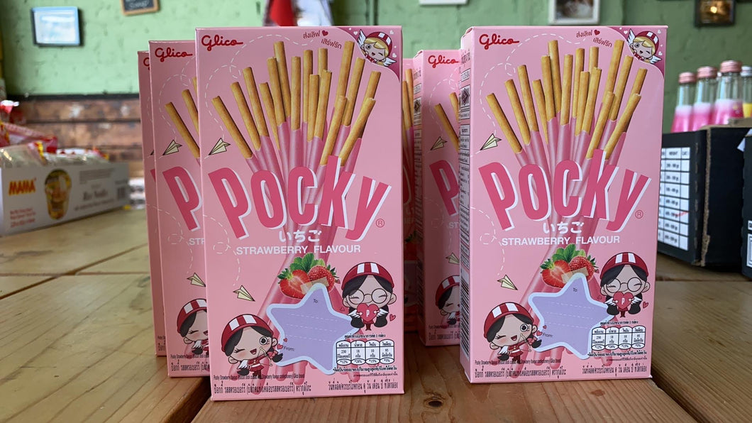 Pocky Fruity Strawberry 47g