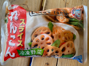 WP Frozen Renkon (Lotus Root) 454g