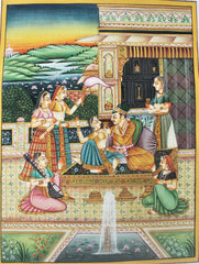 Mughal & Rajasthani Fort Paintings - Click for variety