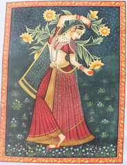 Advaita Handicraft – Indian Ragini Miniature Painting handmade (Rajasthan Ragmala)