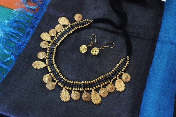 Chatai Dhokra bead Necklace