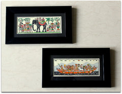Set of 2 Tribal Print Frames