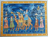 Advaita Handicraft – Indian Rajasthani Miniature Painting handmade (Rajasthani Mughal Painting)