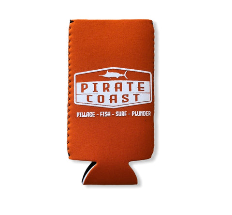Hex Marlin Neoprene Slim Koozie