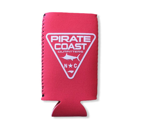 Triangle Patch Neoprene Slim Koozie