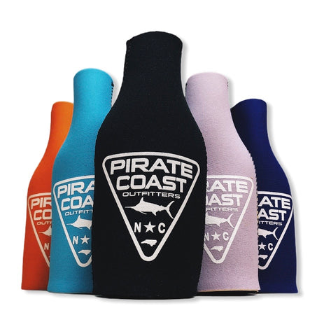 PC Triangle Patch Neoprene Bottle Koozie