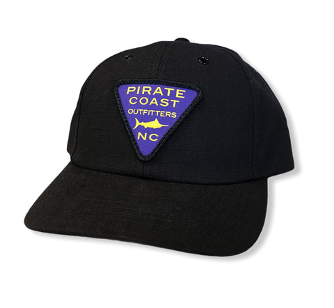 Purple Triangle Patch Hat 931