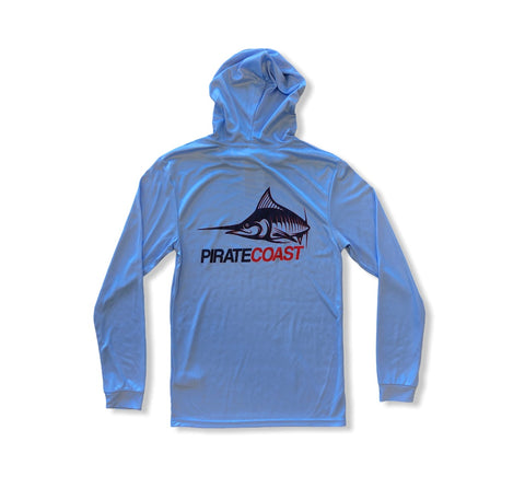 Sleek Marlin Hooded LS UPF50+