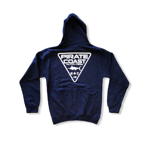 Triangle Patch Hoodie