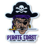 Garst the Pirate Sticker