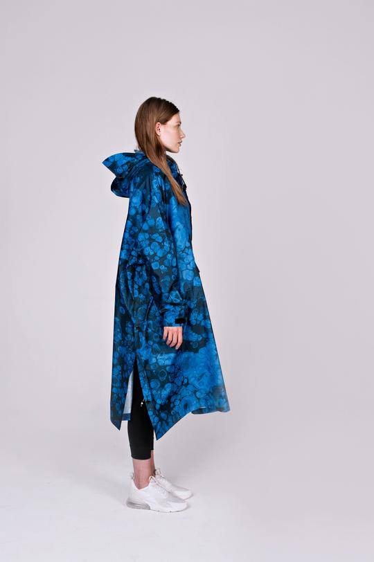 Blue Bubbles - Poncho von RAINKISS