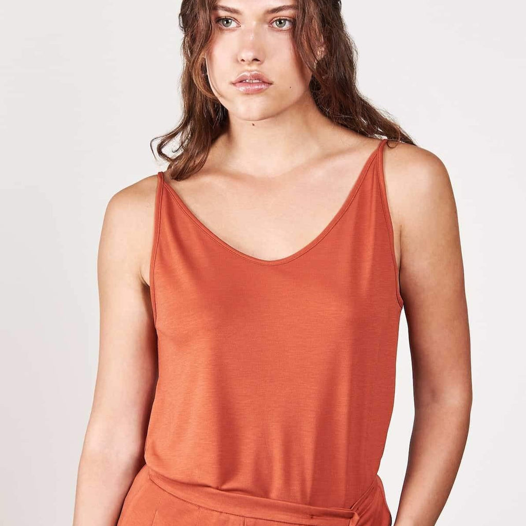 SLIP TOP TRIANGLE RUST von JAN`N JUNE