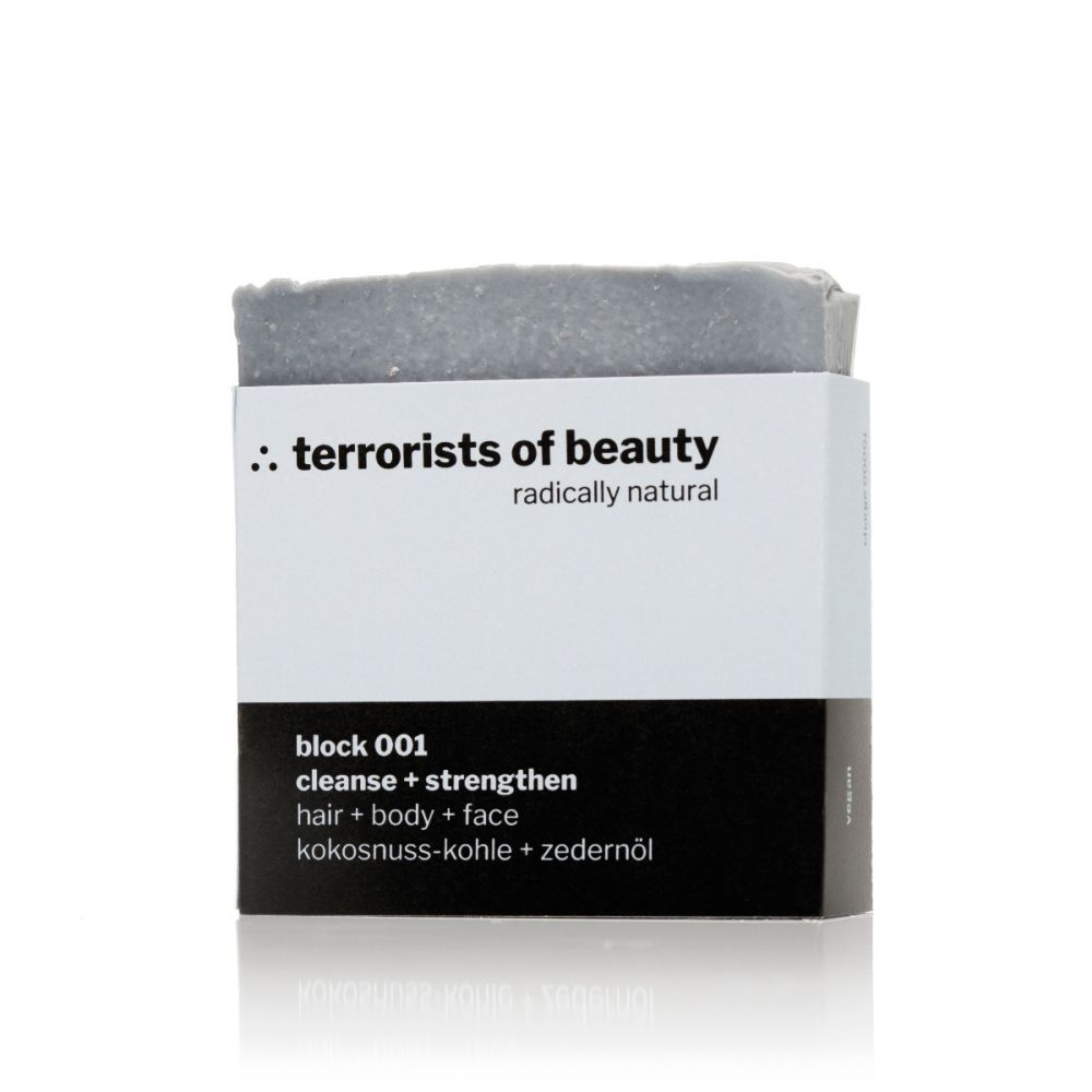 Blockseife 001 von TERRORISTS OF BEAUTY
