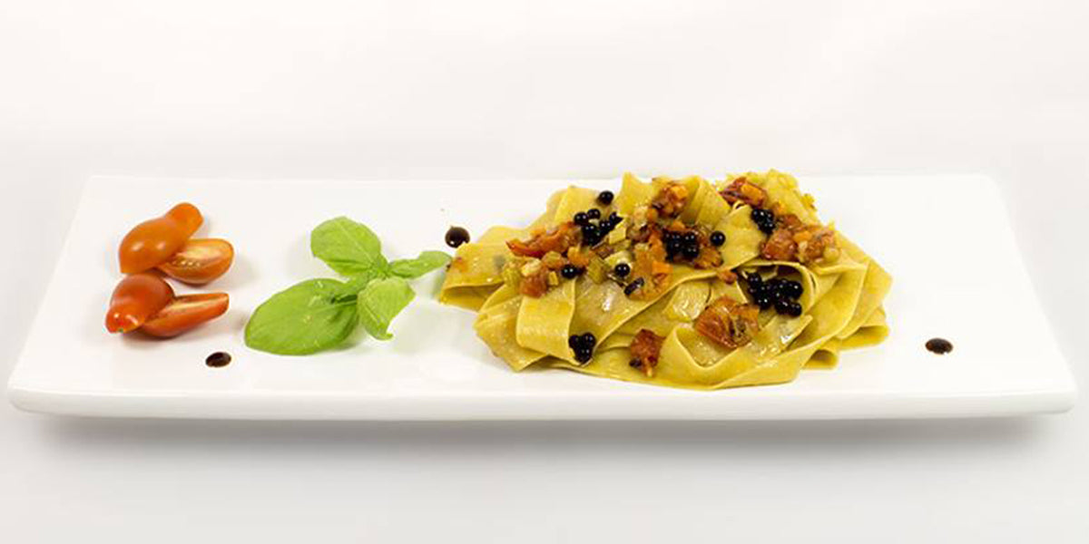GRANNY'S SPECIAL PAPPARDELLE WITH BALSAMIC VINEGAR