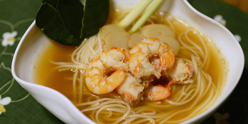 Tom Yum Shrimp Noodle Soup