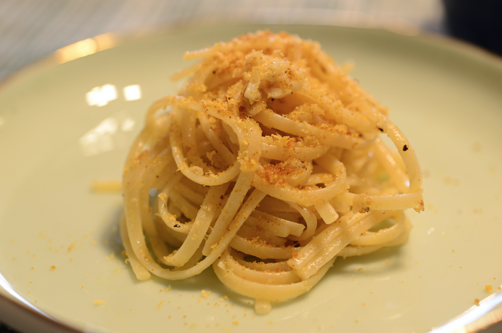 Spaghetti with Bottarga