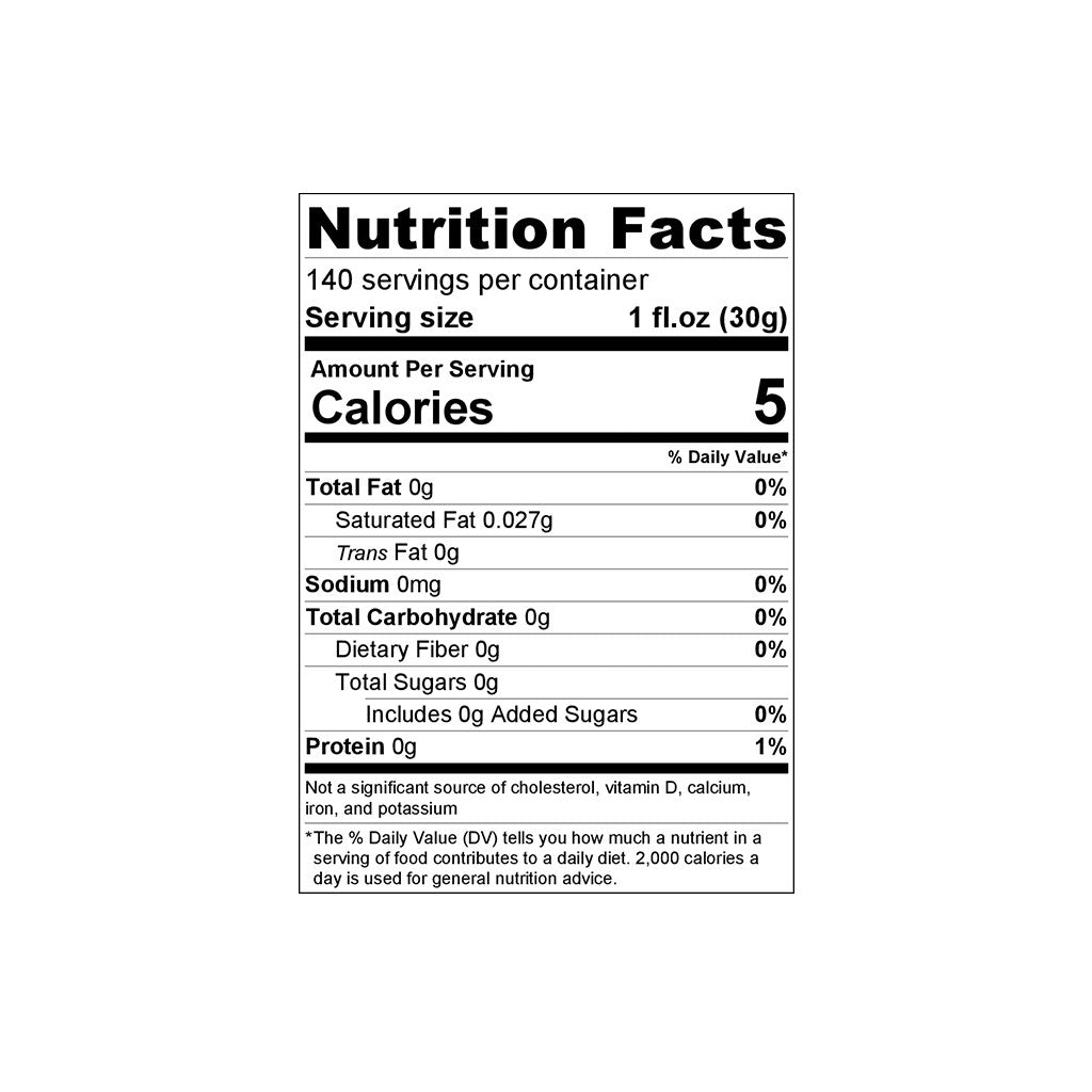 Blue Coffee Beans 1kg Nutrition Facts