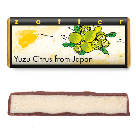 Hand-scooped - Yuzu Citrus from Japan 70g by Zotter