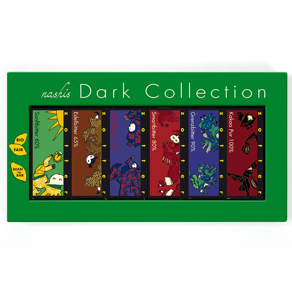 Nashis Dark Collection 12x7g by Zotter